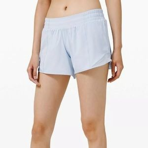 "NWT Lululemon Hotty Hot Short II 4"" in daydream"